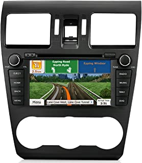 AIMTOM In-dash GPS Navigation Android Stereo Bluetooth DVD CD Deck 7 Touch Screen AV Receiver FM AM Radio USB SD Multimedia Player Built-in Wi-Fi Head Unit for 2014 2015 2016 Subaru Forester