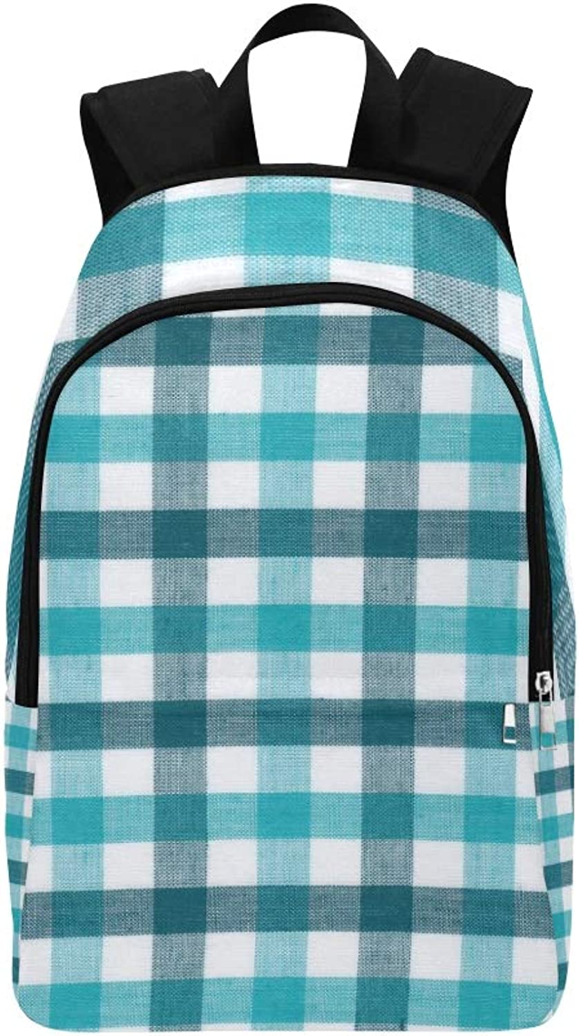 blueee White Tablecloth Casual Daypack Travel Bag College School Backpack for Mens and Women