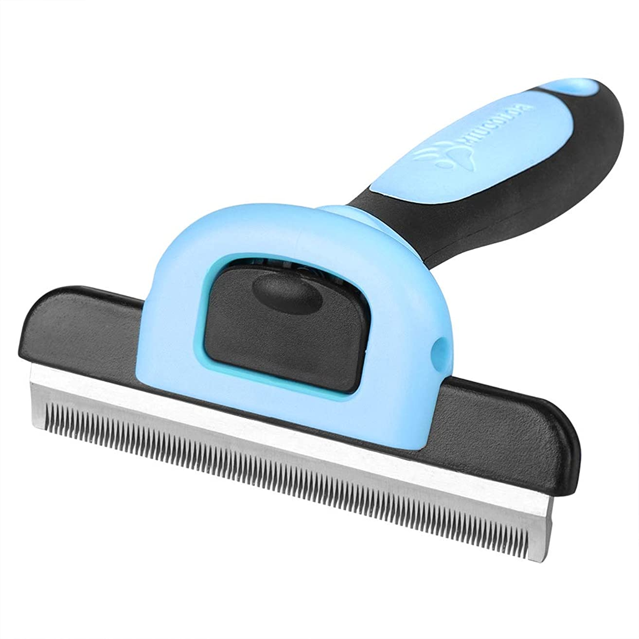 MIU COLOR Pet Deshedding Brush, Professional Grooming Tool, Effectively Reduces Shedding by Up to 95% for Short Hair and Long Hair Dogs Cats