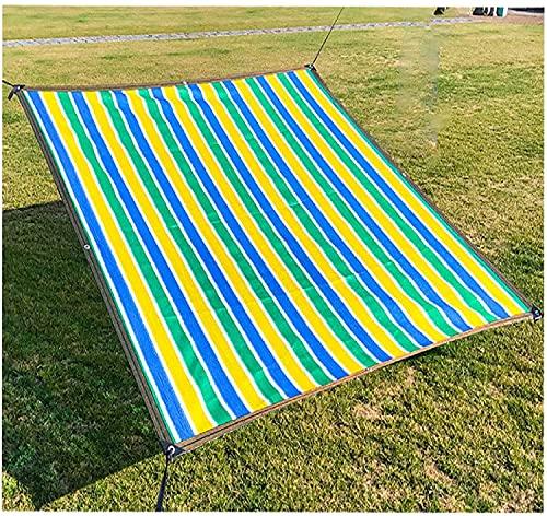 Tarnnetz Sonnensegel Sichtschutznetz 90% UV-Block mit freiem Seil wie Netzgarn Schatten Stoff Rechteck Sonnenschirm Segel Outdoor Garten Patio Party Sonnenschutz Markise...