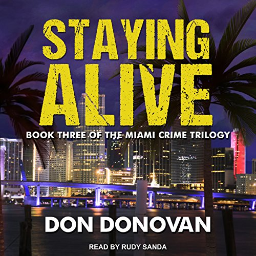 Staying Alive audiobook cover art