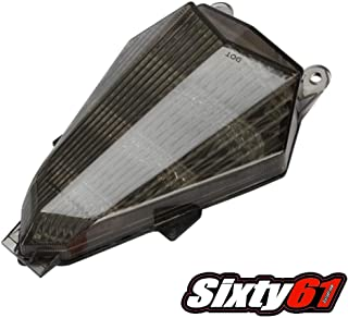 Sixty61 LED Tail Light for Yamaha YZF R6 2006-2016 Smoked Integrated Turn Signals