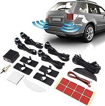 $26 » Terisass Car Reverse Backup Parking Sensor Radar System LED Display Intelligent Automobile Reverse Assistance with 4 Sensor
