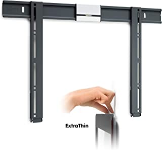 Vogel's TV Wall Mount, Thin 505 Extra Thin Fixed Bracket for 40-65 inch TVs, Black