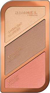 Rimmel London, Sculpting Palette, 02 Coral Glow, 18.5 g