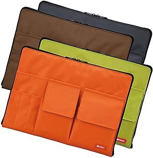 LIHIT LAB.(リヒトラブ) バッグ イン バッグ A4 A-7554 ■4種類の内「4橙」のみです