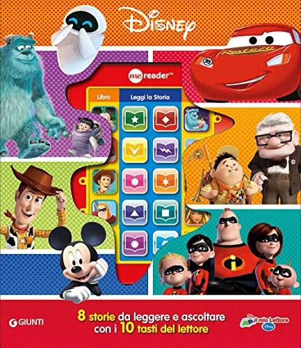 Disney Pixar. Il mio lettore. Ediz. a colori. Con 8 storie da leggere e ascoltare con i 10 tasti del lettore