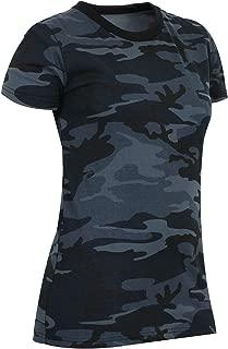 Womens Long Length Camo T-Shirt