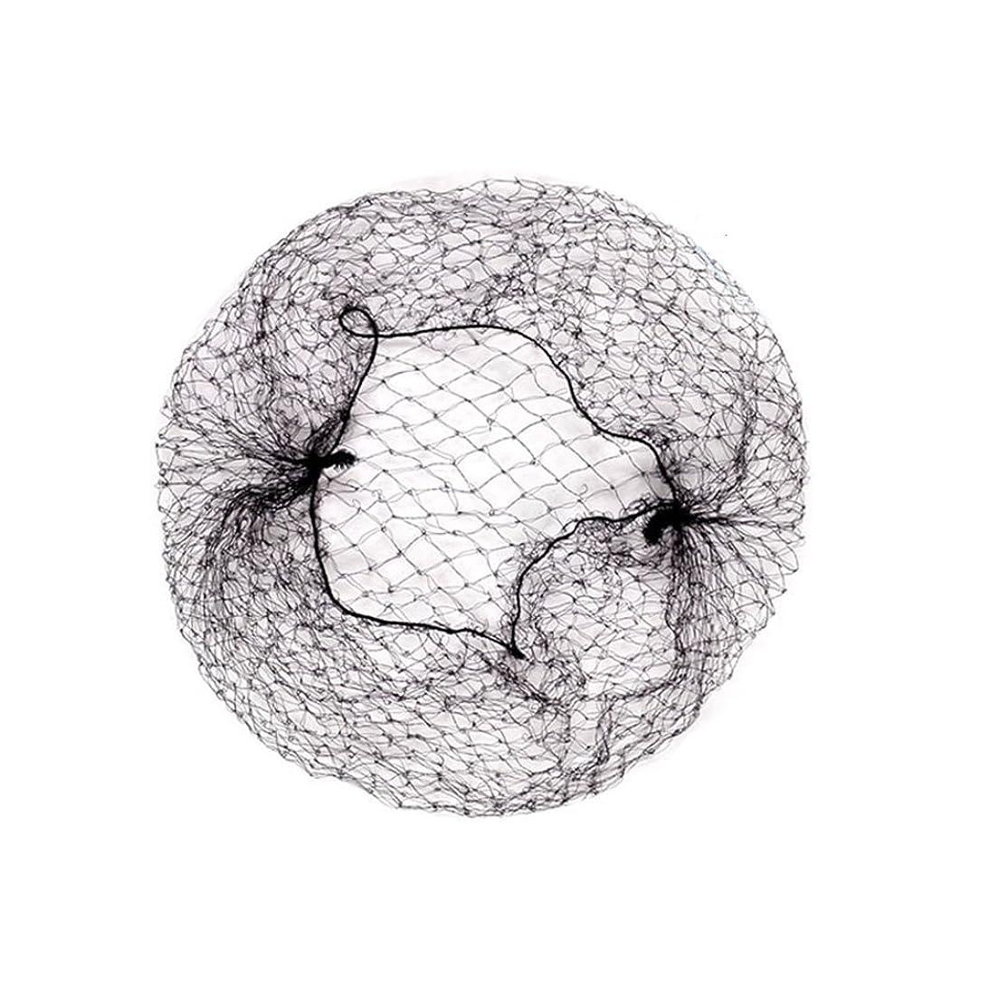 乳製品財産複雑でない髪束ねネットセット(アシアナネット) ファッション小物 60枚セット