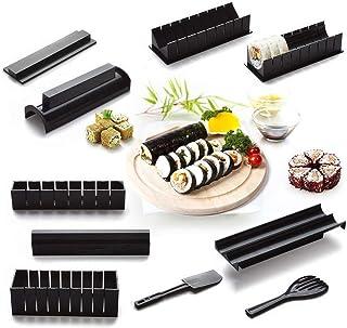 10-teiliges Sushi Making Kit für Anfänger, Kunststoff Sush