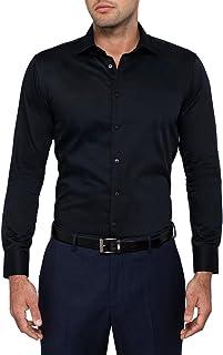 Calvin Klein Men's Slim Fit Solid Shirt