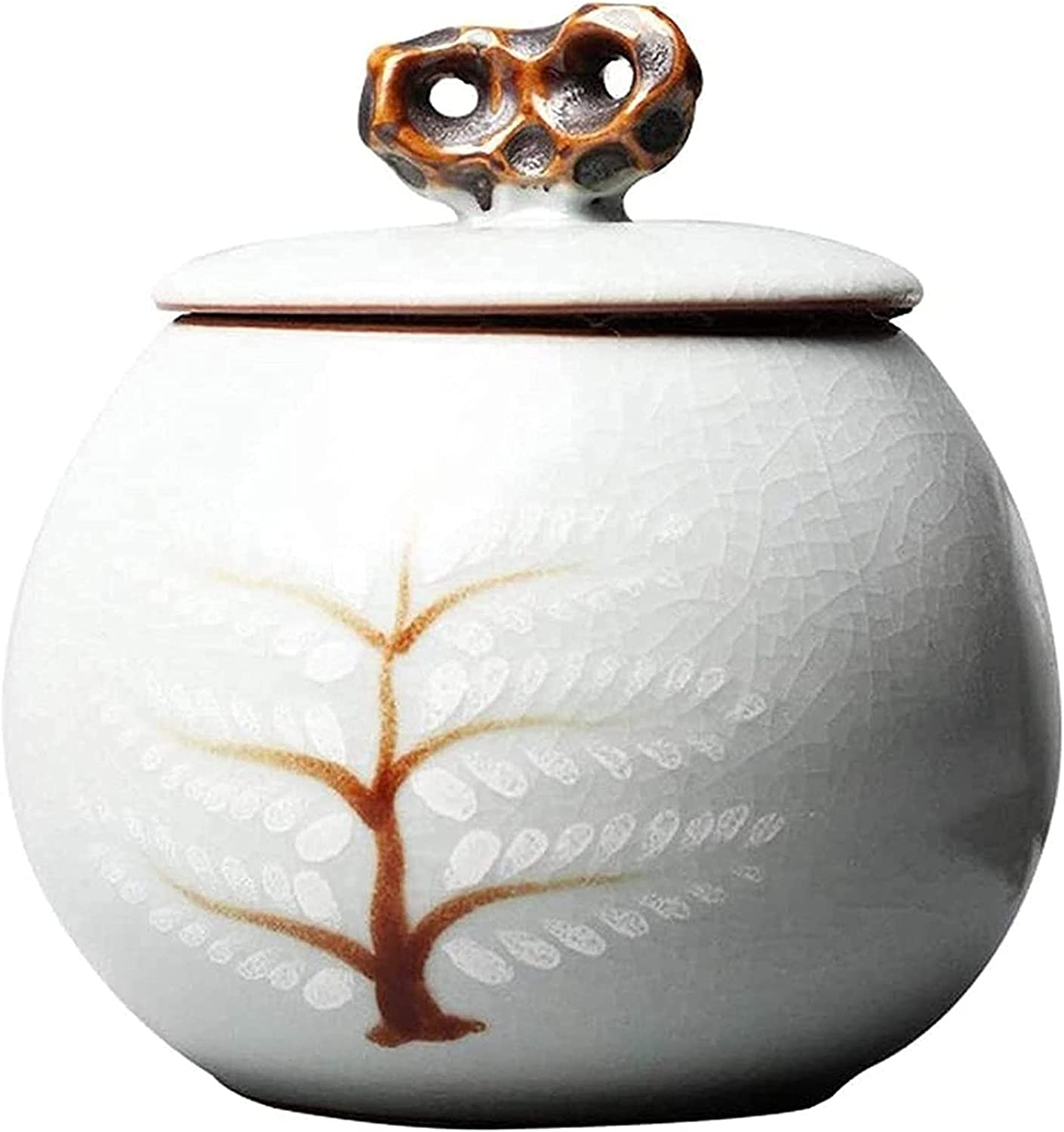 MTFZD Deluxe Small Ceramic Cremation Max 57% OFF Urns or Pet Ashes for Human