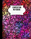 Composition Notebook: Video Game Controller Notebook   Colorful, Wide-Ruled, 7.5 x 9.25, 110 Pages Journal / Notebook For Boys, Grils, Teens, and Gamers