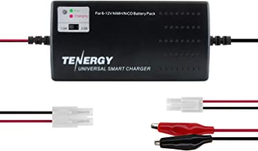 Tenergy Universal RC Battery Charger for NiMH/NiCd 6V-12V Battery Packs, Fast Charger for..