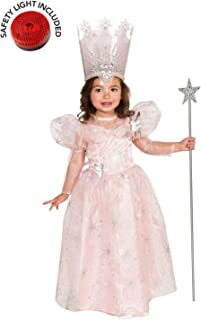 BirthdayExpress Glinda Deluxe Costume Kit with Safety Light - 2T-4T