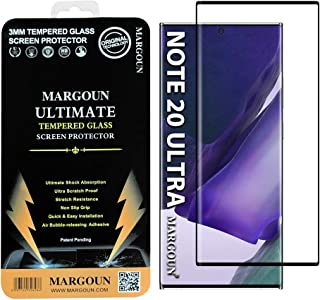 MARGOUN for Samsung Galaxy Note 20 Ultra Screen Protector Edge to Edge 3D Tempered Glass 6.9 inches
