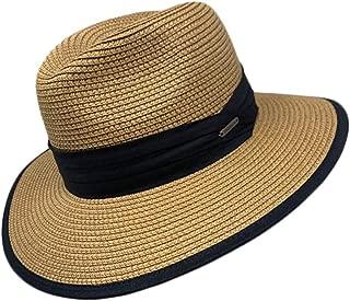 Women Men Unisex Cool Summer Paper Straw Panama Fedora Hat Cap