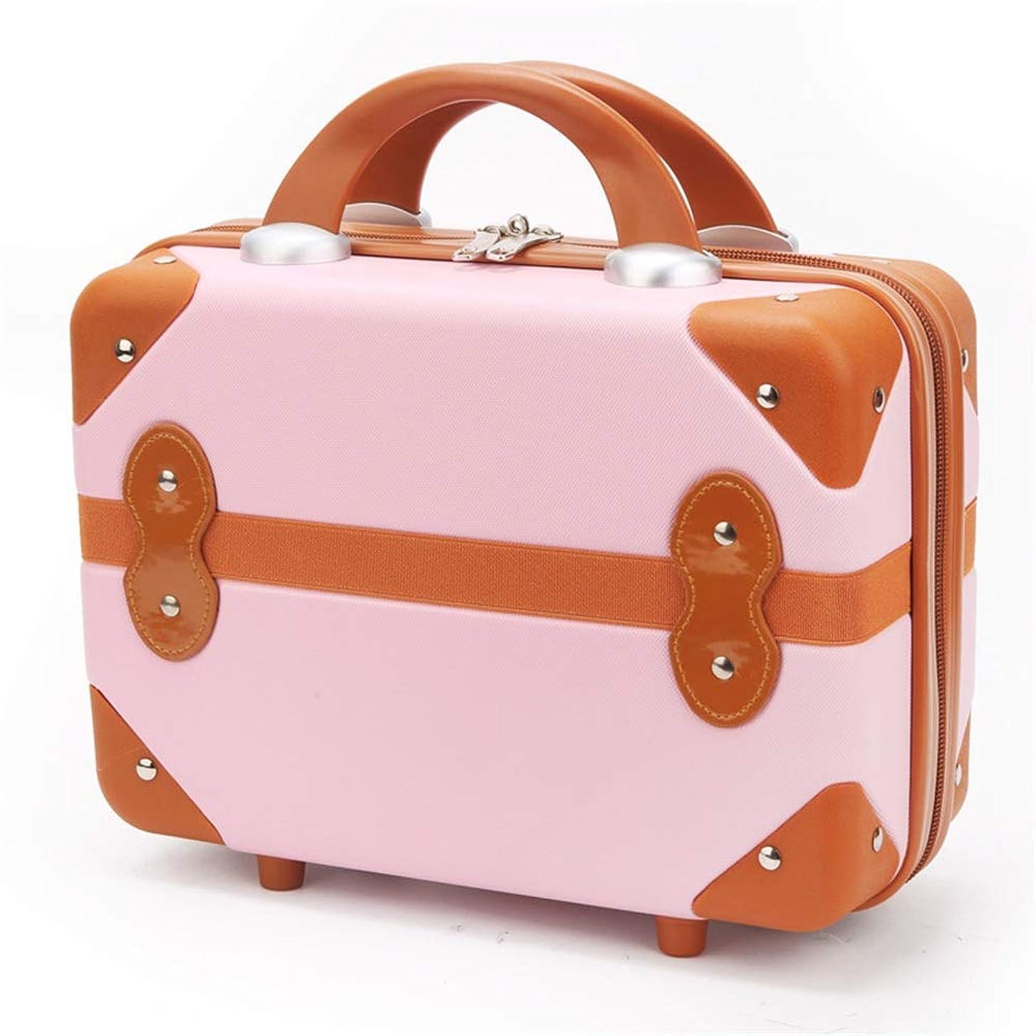 に慣れ祈る変な特大スペース収納ビューティーボックス 14インチ化粧旅行バッグ防水化粧ケース用十代の女の子女性アーティスト多機能ポータブル旅行 化粧品化粧台