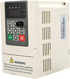 Variable Frequency Drive VFD Inverter Single-Phase Input Single-Phase Output Frequency Converter(2.2KW)