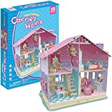 CubicFun p679h–3D Puzzle Die Puppenhaus die Haus von Carrie 4Räume