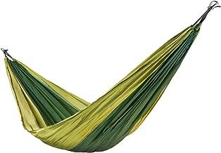Floordirekt Ultralichte hangmat Minca | parachute-nylon | ademend & scheurvast | 200 kg draagkracht | 4 kleuren | incl. 2 ...