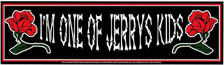 Gypsy Rose I'm One Of Jerry's Kids / Grateful Dead Bumper Sticker / Decal