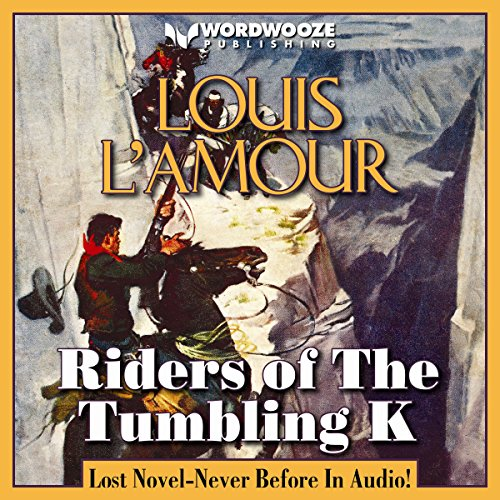 Riders of the Tumbling K audiobook cover art