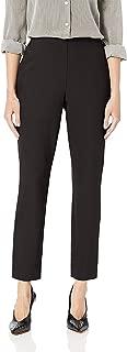Lark & Ro Women's Dress Pants Black US Size 14 Side Zip Crepe Stretch