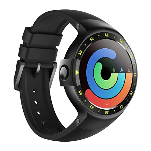 TicWatch S Smart Watch, Wear OS by Google Smart Watch, Compatible with iPhone and