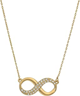 Pave Infinity Pendant Necklace