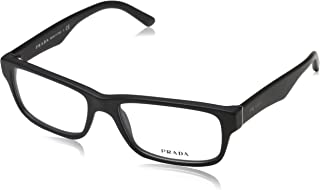 Eyeglass Frames PR16MV 1BO1O1-55 - Matte Black...