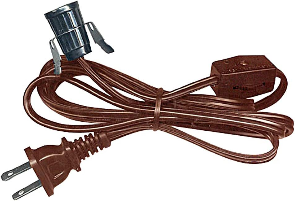 CLIP LIGHTpinch light for ceramics and other crafts 6 foot cord onoff switch