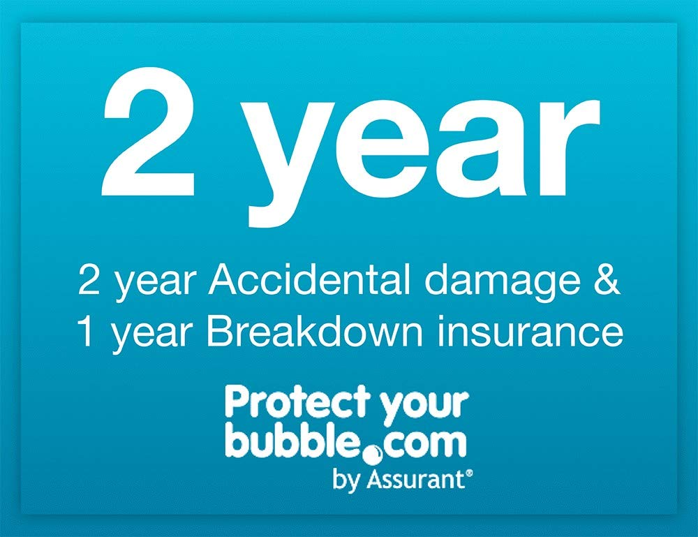 Protect your bubble.com by Assurant 2 year Accidental Damage & 1 year Breakdown insurance for a LAPTOP purchased from…