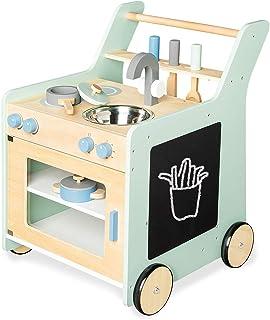 Pinolino 229462 Kalle Cuisine pour enfant Vert pastel/turquoise 6 kg