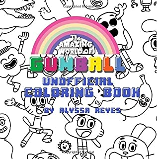 The Amazing World of Gumball Unofficial Coloring Book