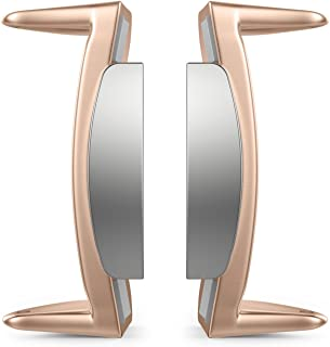 Gear S2 Watch Lugs/Connectors/Clasps, MoKo Stainless Steel Replaceable Connection Adapter Connect 20mm Watch Band for Samsung Gear S2 SM-R720 & SM-R730, Rose Gold