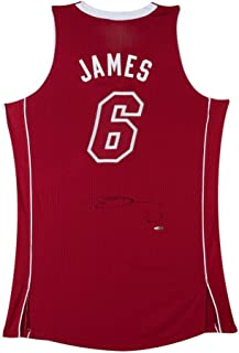LeBron James Signed Miami Heat Authentic Pride Jersey, UDA