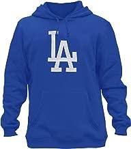 AFSJEEP Mens Dodgers Embroidery Heavy Soft Sweatshirt Hoodie