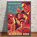 yhnjikl Reservoir Dogs Classic Hot Movie Fight Film Vintage