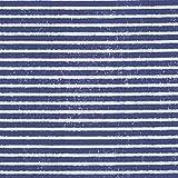 Baumwollstoff   Französische / Bretonische Segler Streifen