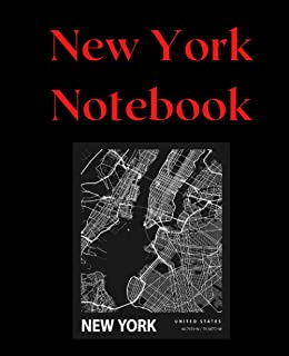 """New York Notebook: Wide Ruled 