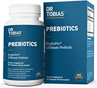 Dr Tobias Prebiotic - The Perfect Complement & Boost for Every Probiotics Supplement