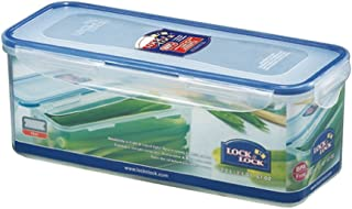 LOCK & LOCK Airtight Rectangular Food Storage Container with Drain tray 64.63-oz / 8.45-cup