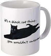 CafePress Black Cat Thing Mugs Unique Coffee Mug, Coffee Cup