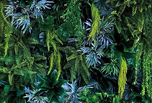 Telón de Fondo para fotografía, follaje de Hierba, Palmeras Tropicales, Hojas de árboles, Estudio fotográfico, Accesorios de Fondo para fotografía A6, 10x7ft / 3x2,2 m