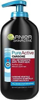 Garnier PureActive Intense 3 in 1 Natural Skin Detergent Anti-Blackhead 200 ml