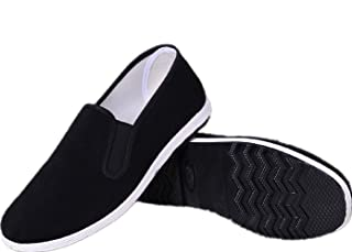 AioTio Chaussures Traditionnelles Chinoises Traditionnelles de Beijing Kung Fu Chaussures Tai Chi Semelle en Caoutchouc Un...