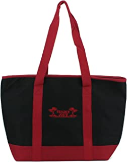 Trader Joe's Extra Large Red & Black Insulated Shopping Bag