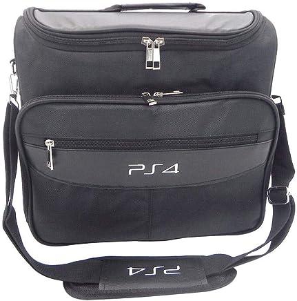 b00ccf5ca9 onevwing Sac de Transport pour PS4, Sac de Rangement Multifonction de  Voyage pour PlayStation4 PS4