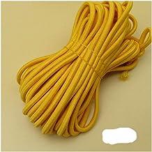 Xpwoz 10 M Ronde Elastische Elastische Rope for jurk broek DIY Kleding accessoires (Color : 40)
